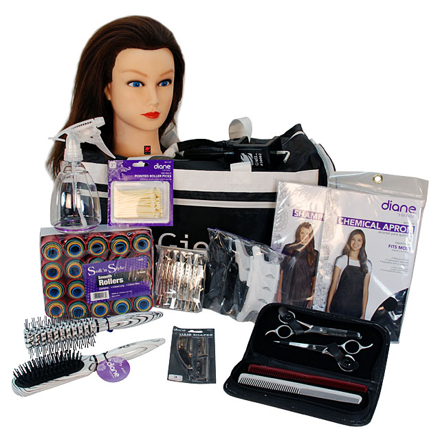 Basic Cosmetology School Student Kit for Hair Styling and Cutting by Giell