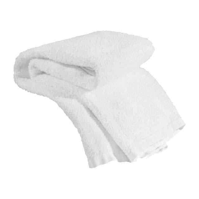 Economy Salon Towel 15 X 25 100% Cotton White - Single Towel