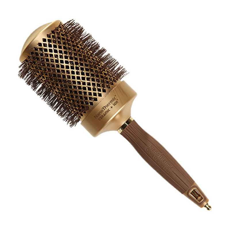 2 3 4 nano thermic round thermal hair brush by olivia garden at Olivia garden nanothermic brush