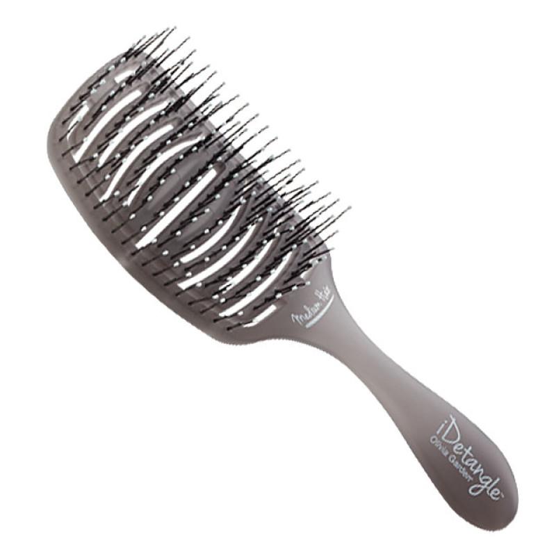 image 1 idetangle for medium hair detangling hair brush by olivia garden at giell - Olivia Garden