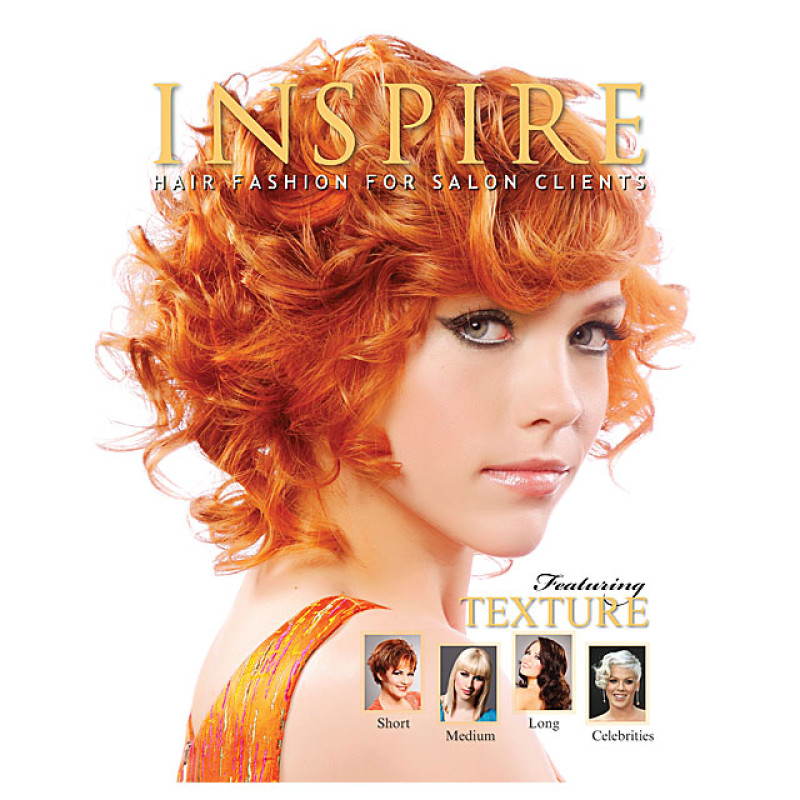 Inspire Hair Fashion Book for Salon Clients Vol. 53 : Featuring Texture SH/MD/LG