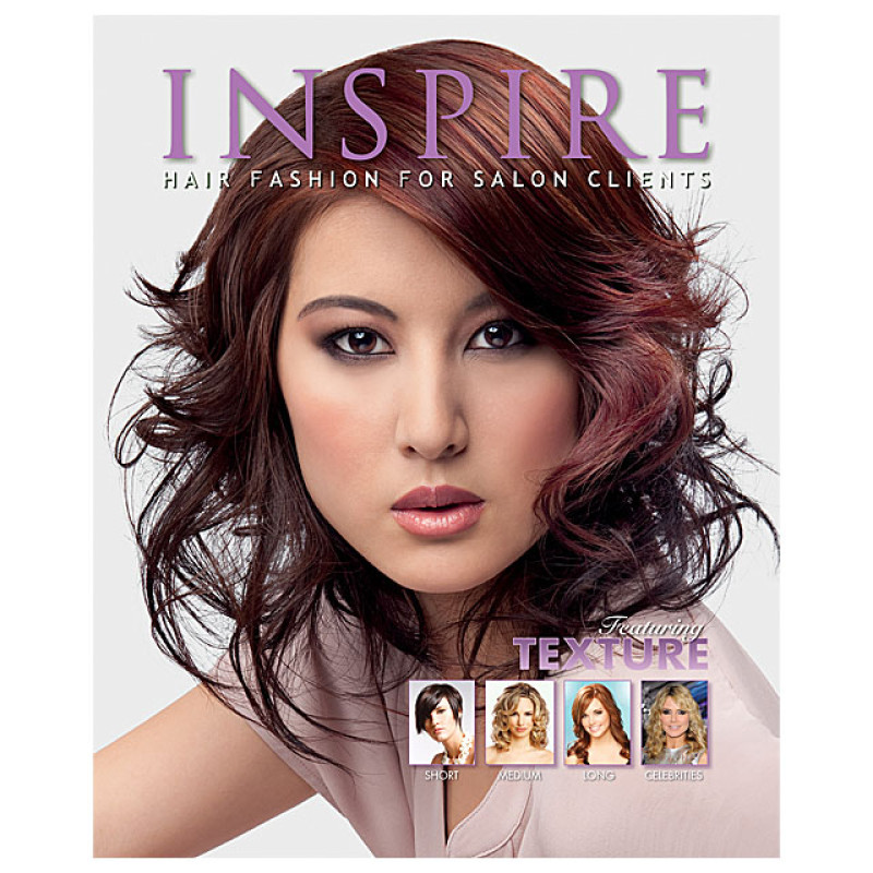 8444b47d4f2 Vol 83 : Featuring Texture - Inspire Hair Fashion Book for Salon Clients