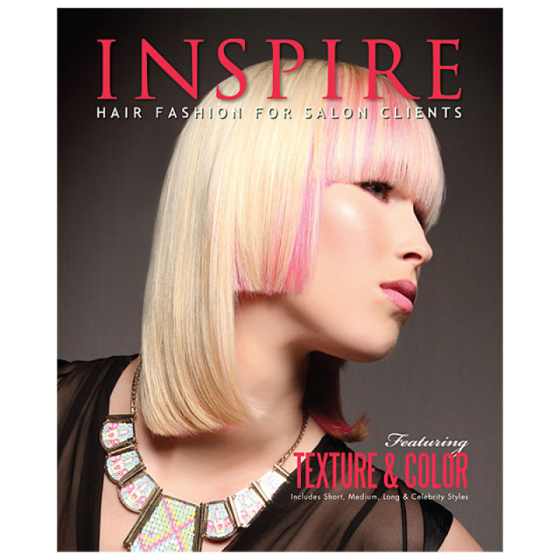 hair styling books for salons vol 91 texture amp color inspire hair fashion book for 8770