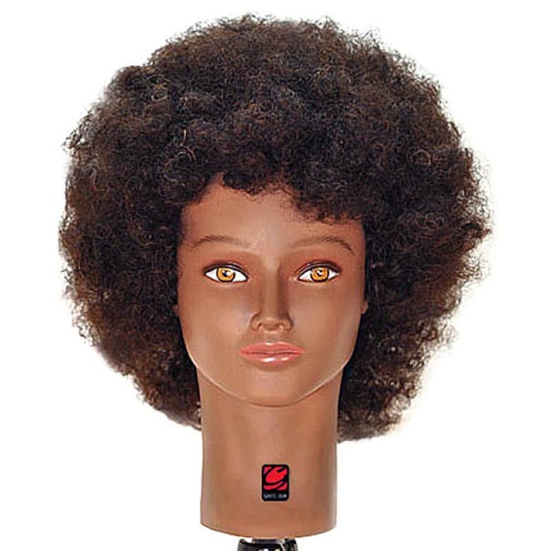 Jordan 16 Afro Style Black 100 Human Hair Cosmetology Mannequin