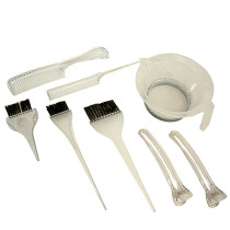 Image 1 - 8 pcs Hair Coloring Tint & Brush Set by The Invisibles at Giell.com