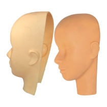 Image 1 - Makeup and Massage Practice Cosmetology Mannequin Head and Mask Set by Celebrity at Giell.com