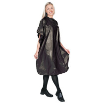 """Image 1 - Vinyl Shampoo Cape 54"""" X 36"""" with Velcro Neck Closure by Scalpmaster at Giell.com"""