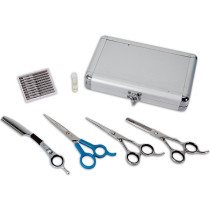 Image 1 - 6 pcs Japanese Stainless Steel Shear & Razor Set by TK2 - Togatta at Giell.com