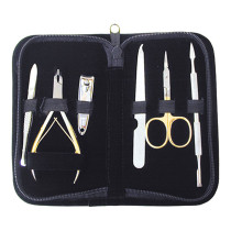 Image 1 - 6 pcs Manicure Implements Set by Satin Edge at Giell.com