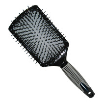 Image 1 - Large Paddle Ceramic Cushion Hair Brush by Salon Chic at Giell.com