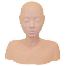 Image 1 - Esthetics & Massage Training Head with Shoulders and Chair Straps