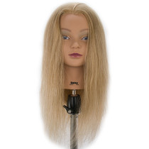 "Image 1 - Daisy 24"" Blonde 100% Human Hair Cosmetology Mannequin Head by Celebrity at Giell.com"