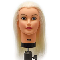 """Image 1 - Debra Color Training 19"""" Level 12 100% Human Hair Cosmetology Mannequin Head at Giell.com"""