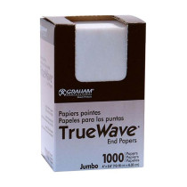 """Image 1 - 1000 Jumbo End Papers for Perm Rods 4"""" X 2/5"""" by True Wave at Giell.com"""