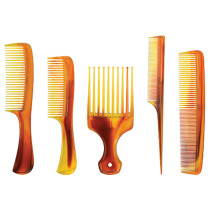 Image 1 - 5 pcs Assorted Tortoise Combs Set