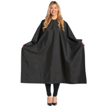 "Image 1 - Multi-Purpose 58"" X 46"" Chemical Safe Styling Cape by Salon Chic"