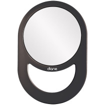 "Image 1 - Oval Mirror with Handle 7-1/2"" x 11"" for Hair Salon by Diane at Giell.com"