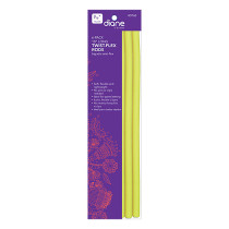 """Image 1 - 6-Pack Twist-Flex Flexi Rods for Natural Hair - Long 7/16"""" Yellow by Diane at Giell.com"""