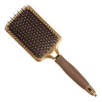 Image 1 - NanoThermic Paddle Styler Hair Brush by Olivia Garden at Giell.com