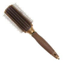 Image 1 - NanoThermic 9 Row Styling Hair Brush by Olivia Garden at Giell.com