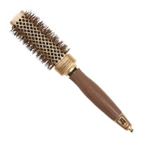 "Image 1 - 1 1/2"" NanoThermic Square Shaper Hair Brush by Olivia Garden at Giell.com"