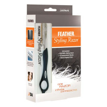 Image 1 - Feather Styling Razor Standard Kit - Black at Giell.com