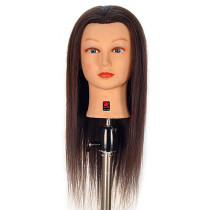 "Image 1 - Charlotte 23"" 100% Human Hair Cosmetology Mannequin Head by Giell at Giell.com"