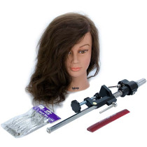 Image 1 - Head Shape Matters Student Kit - Gabriela Cosmetology Mannequin and Accessories by Giell