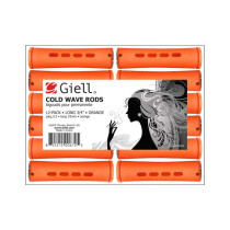 "Image 1 - 3/4"" Orange Long Cold Wave Perm Rods 12-Pack by Giell at Giell.com"
