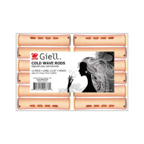 "Image 1 - 11/16"" Peach Long Cold Wave Perm Rods 12-Pack by Giell at Giell.com"