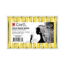 "Image 1 - 3/16"" Yellow Long Cold Wave Perm Rods 12-Pack by Giell at Giell.com"