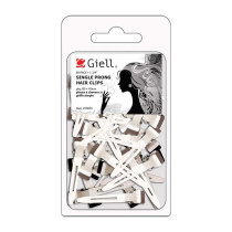 "Image 1 - 80-pk 1-3/4"" Single Prong Metal Hair Clips by Giell at Giell.com"