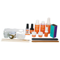 Image 1 - Deluxe Odorless Acrylic Sculptured Nail Student Kit by Gleam Labs