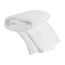 Image 1 - Economy Salon Towel 15 X 25 100% Cotton White - Single Towel at Giell.com