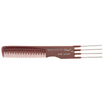 "Image 1 - 7 3/4"" Lift Comb Teaser Stainless Steel Pick Goldilocks G8 by Krest at Giell.com"
