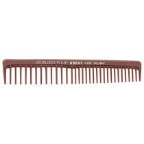 "Image 1 - 6 1/2"" Space Tooth Finishing Comb Goldilocks G15 by Krest at Giell.com"