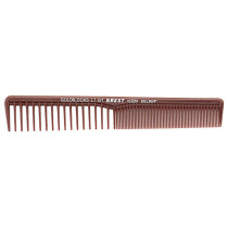 "Image 1 - 7"" Space Tooth - Fine Tooth Styler Comb Goldilocks G17 by Krest at Giell.com"