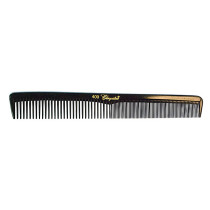 Image 1 - 12 Hair Styling Combs Black with Inch Markers Cleopatra by Krest at Giell.com