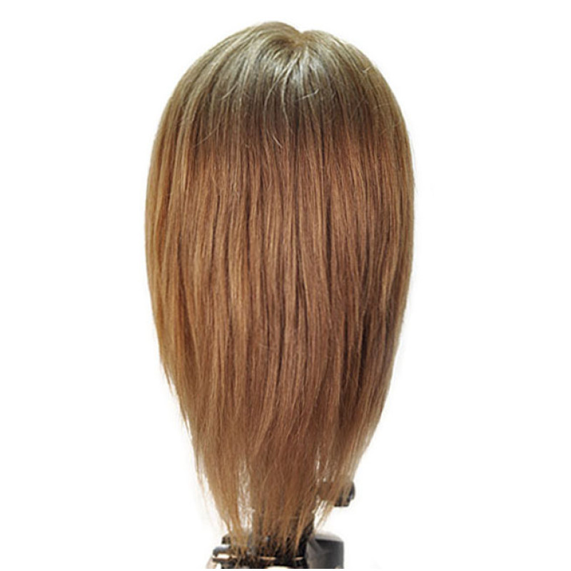 """Image 3 - Emily 12"""" Virgin Remy 100% Human Hair Light Brown Cosmetology Mannequin Head by HairArt at Giell.com"""