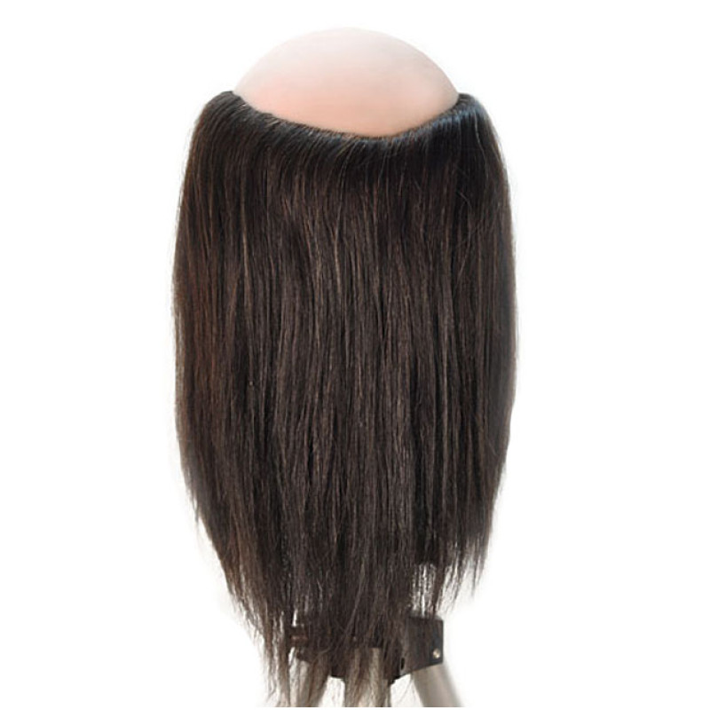 "Image 3 - Danny 10"" Balding Male 100% Human Hair Cosmetology Mannequin Head by HairArt at Giell.com"