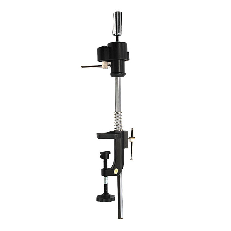 Image 1 - Pro Adjustable Holding Stand / Clamp for Cosmetology Mannequin Head by Celebrity at Giell.com