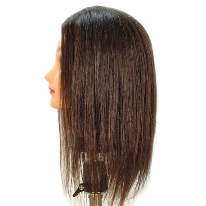 """Image 2 - Debra 19"""" 100% Human Hair Cosmetology Mannequin Head by Celebrity at Giell.com"""