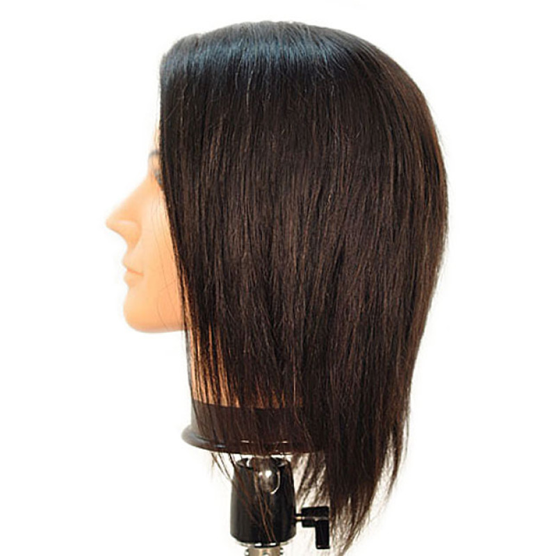 "Image 2 - Jake 18"" Male 100% Human Hair Cosmetology Mannequin Head by Celebrity at Giell.com"