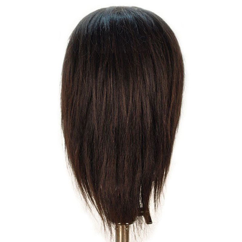 "Image 3 - Jake 18"" Male 100% Human Hair Cosmetology Mannequin Head by Celebrity at Giell.com"