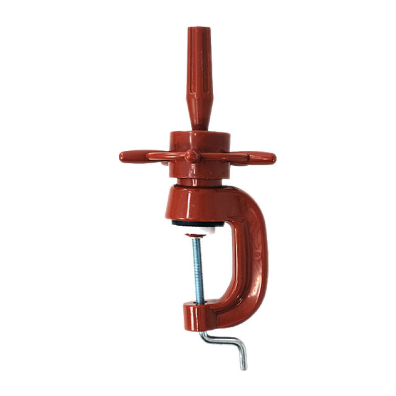 Image 1 - Deluxe Holding Clamp / Stand for Cosmetology Mannequin Head by Celebrity at Giell.com