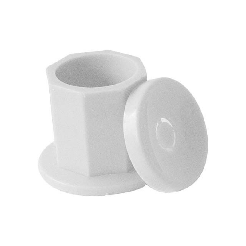 Image 1 - Plastic Dappen Dish for Nail Acrylics Liquid or Powder at Giell.com