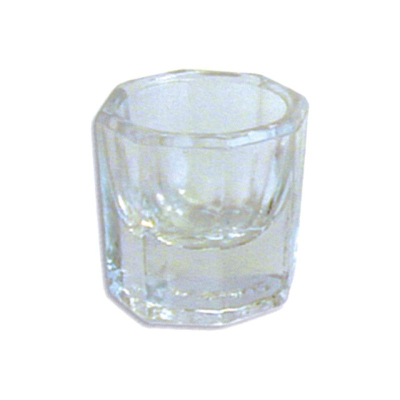 """Image 1 - 1"""" Glass Dappen Dish for Nail Acrylics at Giell.com"""
