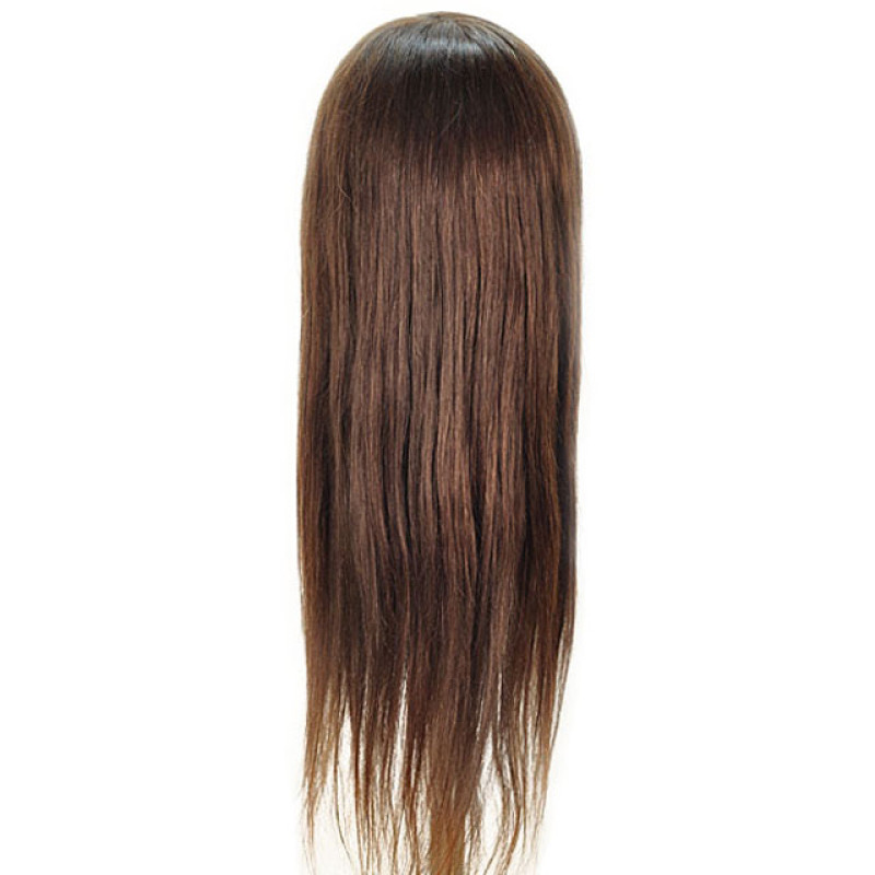 "Image 3 - Lauren 26"" Competition 100% Human Hair Cosmetology Mannequin Head by Celebrity at Giell.com"