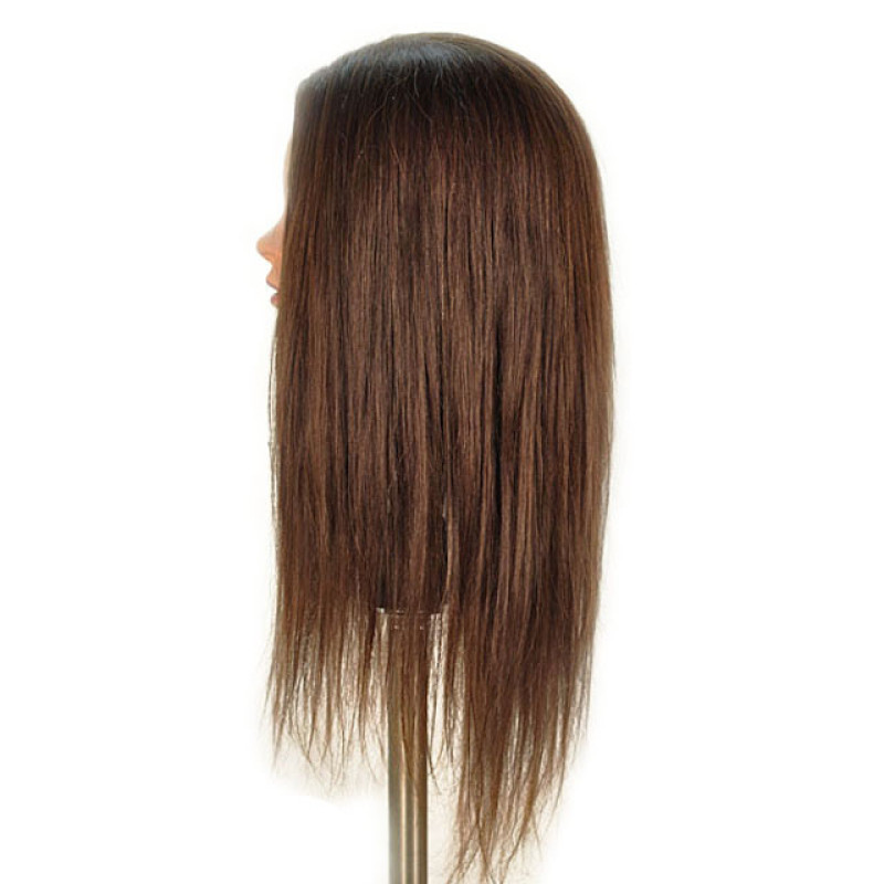 "Image 2 - Zoey 24"" 100% Human Hair Cosmetology Mannequin Head by Celebrity at Giell.com"