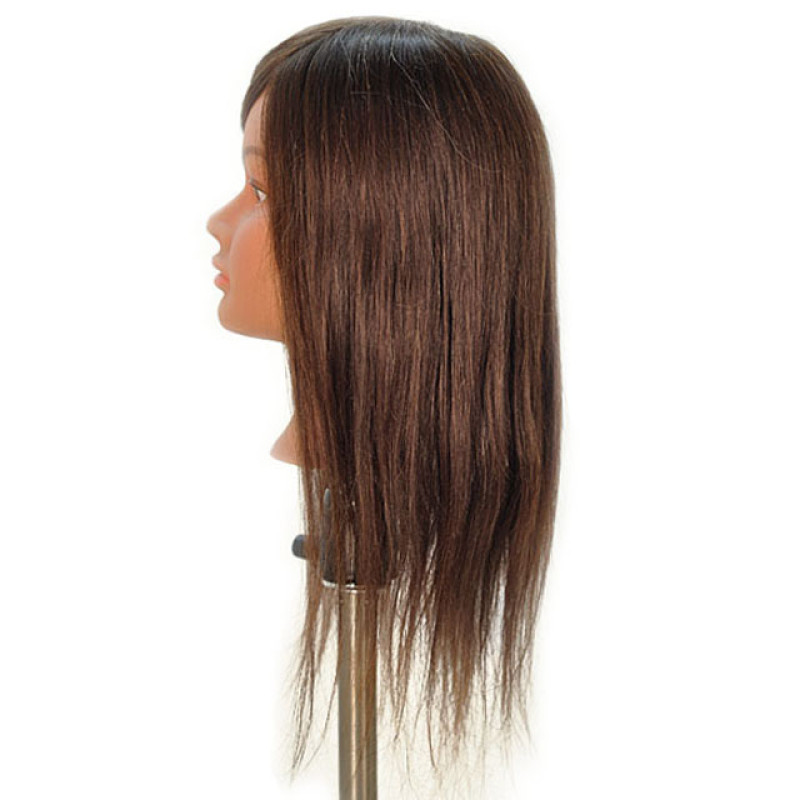 "Image 2 - Gabriela 21"" 100% Hair Cosmetology Mannequin Head by Celebrity at Giell.com"
